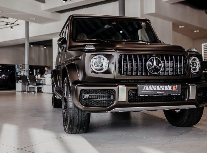 Mercedes G63 Brązowy Mat