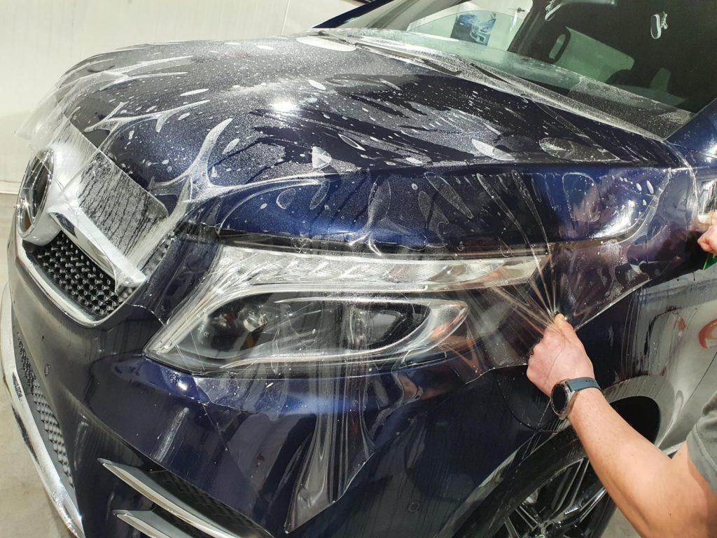 oklejanie folią w auto detailing spa